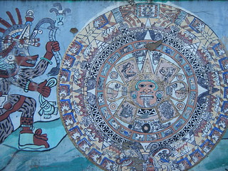 Maya circle mural | by Preetha & James
