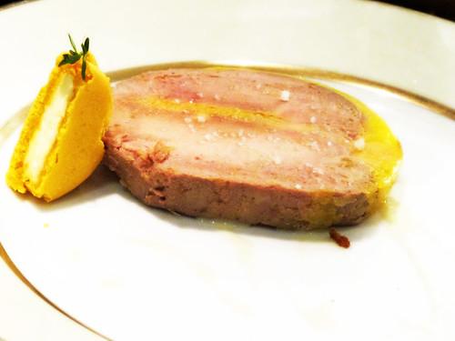 Goose Foie Gras with a Lemon-Thyme Macaron | by wEnDaLicious