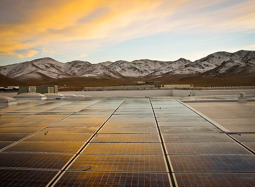Black Rock Solar photovoltaic array at Food Bank of Northern Nevada | by Black Rock Solar