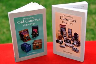 """DISCOVERING OLD CAMERAS 1839-1939"" & ""DISCOVERING CAMERAS 1945-1965"" de Robert White | by Coleccionando Camaras"