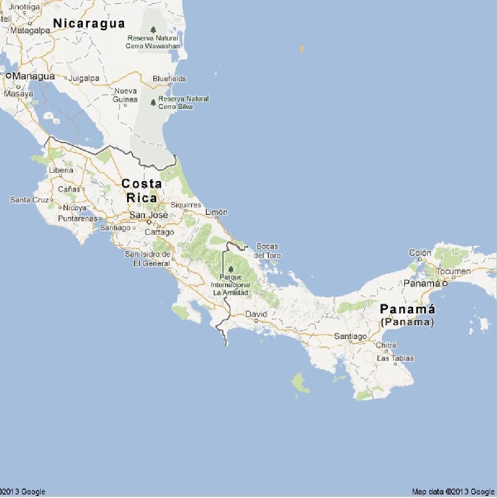 costa-rica - panama - Google Maps-page-001   GUY BUCHMANN ...