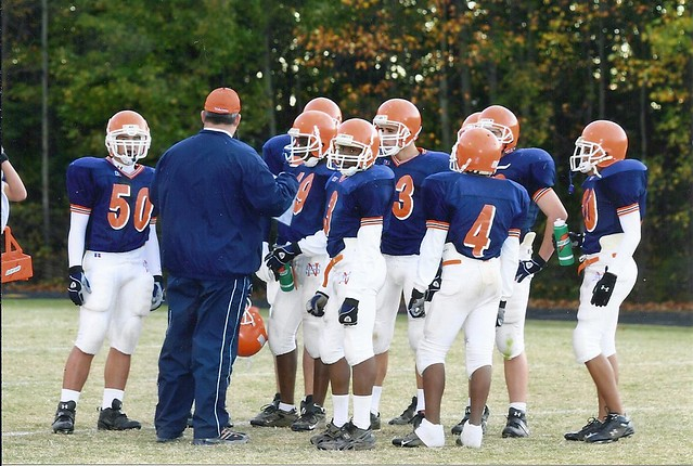 Coach Dwayne Moyers North Stafford Wolverines
