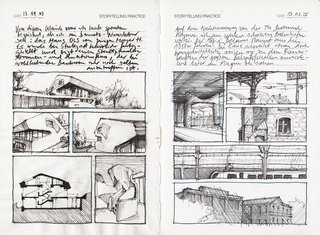 IDComics Storytelling Practice Page 9   mixed media cars on …   Flickr