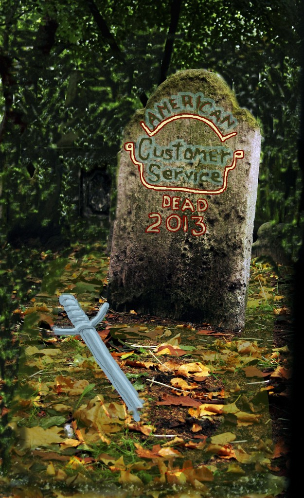 the death of customer service