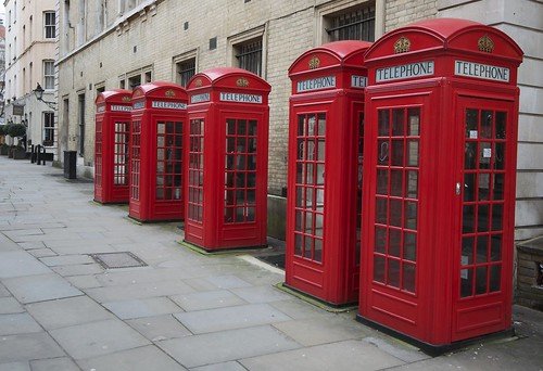 Red Telephone Boxes, Covent Gardens 26-3-2013 | by Martin Pettitt