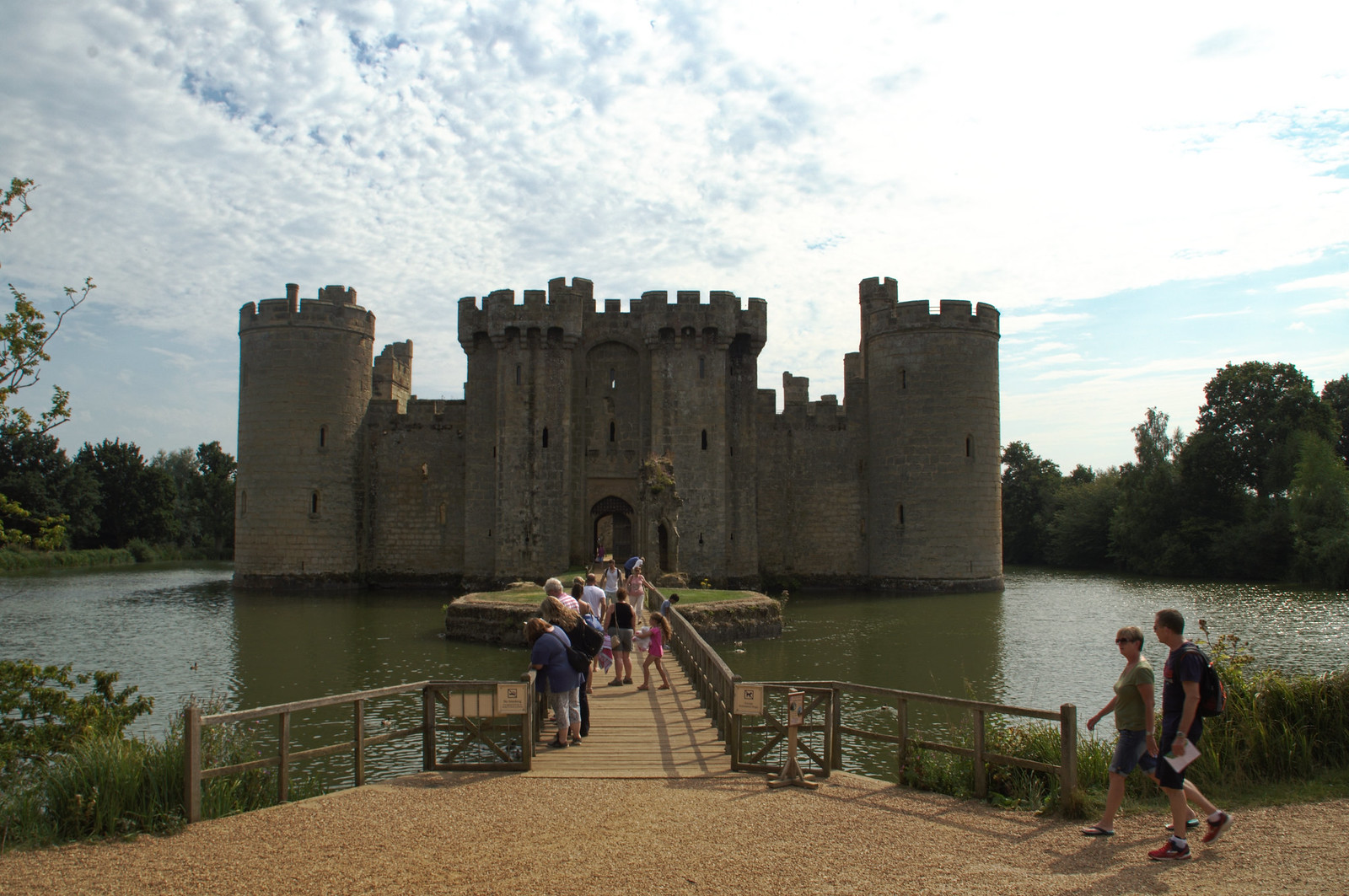 Bodiam Castle entrance