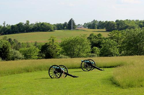 Antietam Battlefield, Behind the Cemetery
