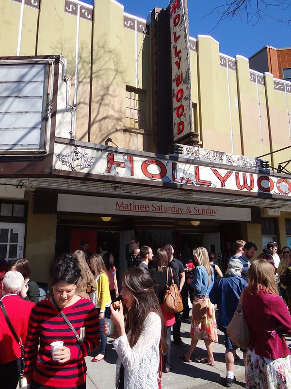 After Church Service at Old Hollywood Theatre - Broadway - Vancouver - BC - Canada
