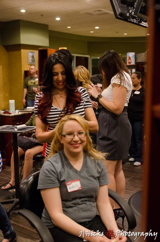 Elites get pampered at LifeSpa + Salon by Michael Boychuck.