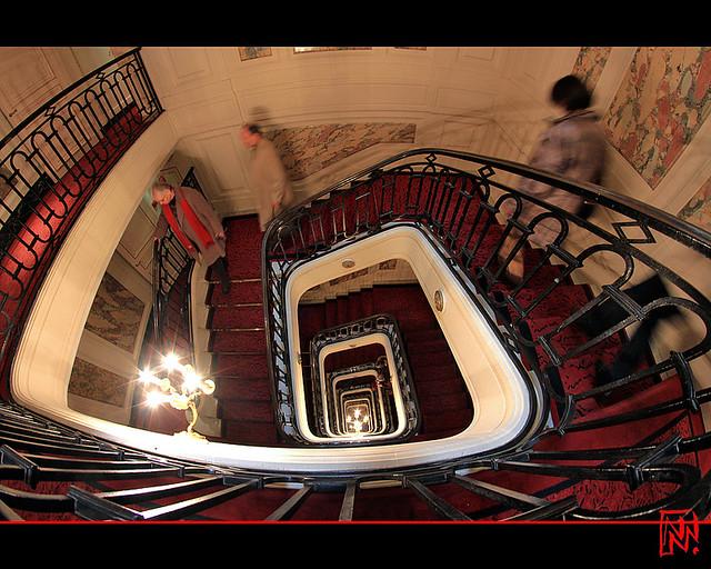 Hôtel de Crillon : de haut en bas