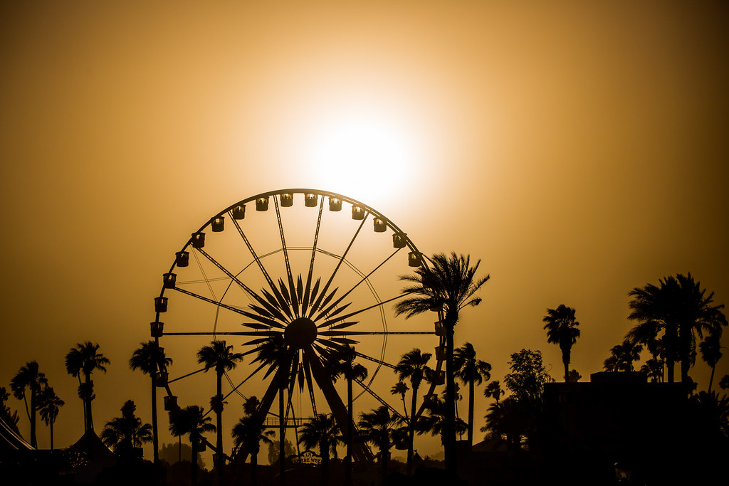 Sunset On Coachella Coachella 2013 Indio Ca Check Out Flickr