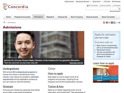 Concordia.ca   by Matthew Burpee