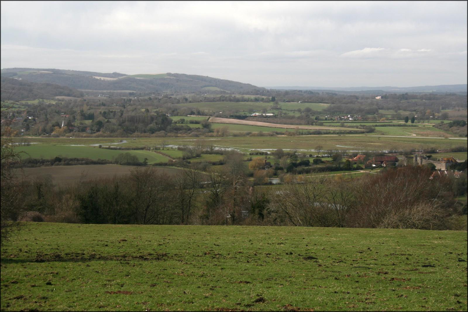 The Arun Valley near Amberley