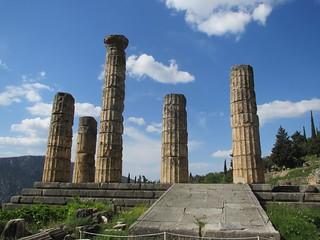 Temple of Apollo at Delphi 365/109 #2013PAD | by Hecuba's Story