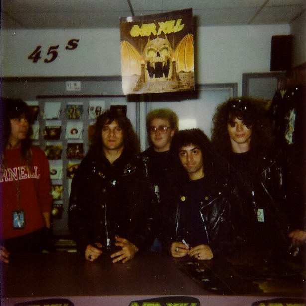 TRENTON: Overkill metal band (1989) | The speed metal band O