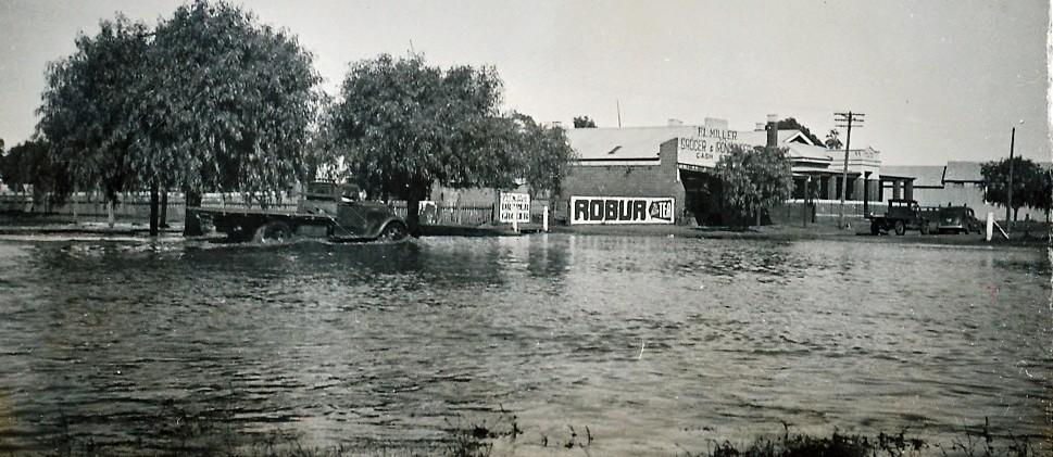 Ungarie Flood  1941  N.S.W. Australia
