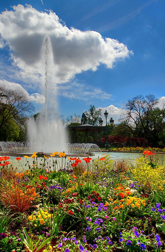 Jardin du Grand Rond - Toulouse | Réalisé entre 1752 et 1754 ...