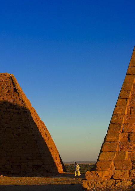 The Pyramids At Jebel Barkal, Used By Napatan Kings, Karima, Sudan