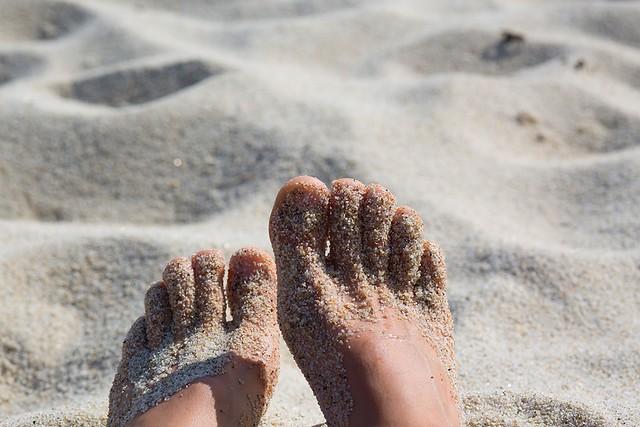 encore un peu de vacances sur mes pieds