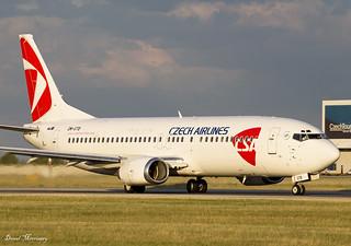 Czech Airlines 737-400 OM-GTB | Czech Airlines 737-49R Reg