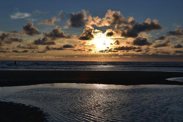 Sunset at Crosby