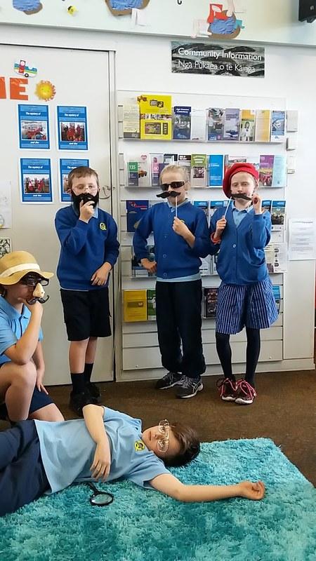Queenspark School makerspace class
