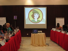Planning session in advance of World Social Forum - Tunisia March 2013