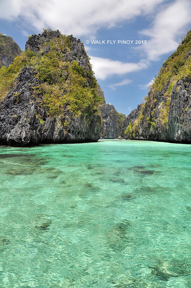 Big Lagoon El Nido Palawan Philippines Walk Fly Pinoy