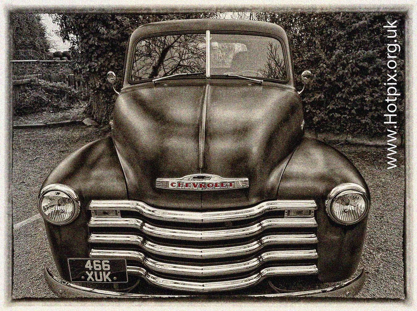 466XUK,1949,Chevrolet,5.7,Litre,Pick-up,car,truck,chevy,dunham,massey,sepia,ipod,shuffle,shuffle2,tonysmith,Tony Smiththat,England,Cheshire,UK