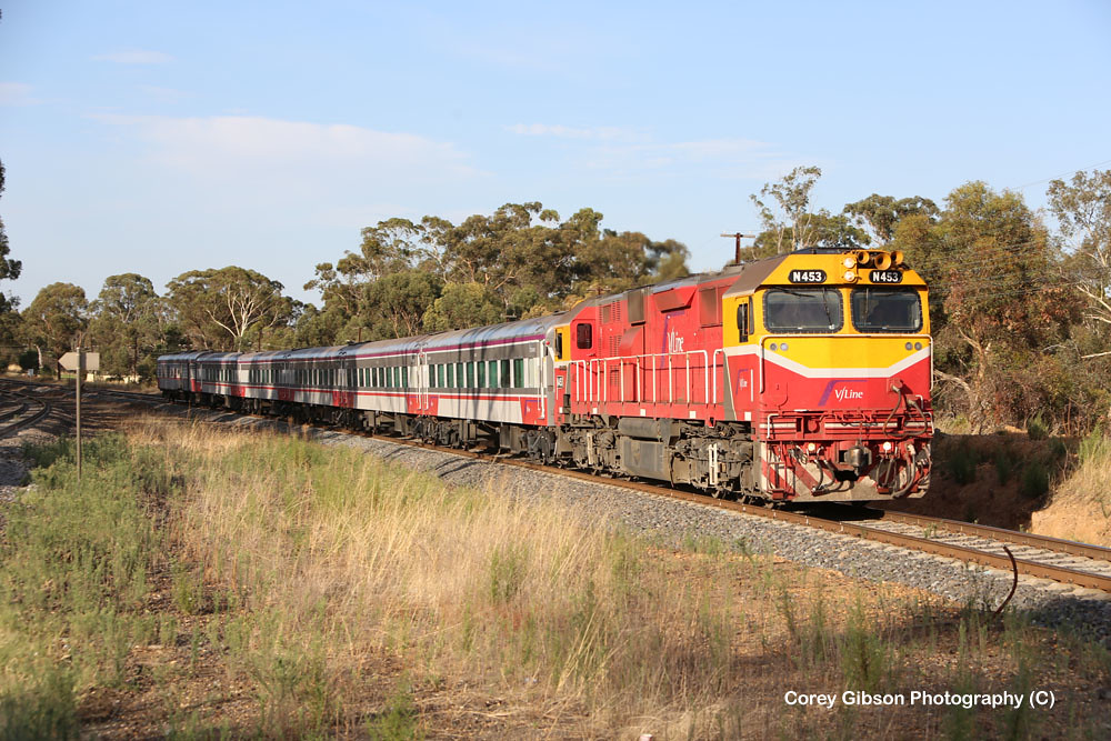 N453 with the Shepparton Passenger service by Corey Gibson
