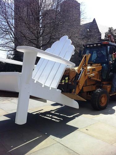 Warmer Weather = Big Chair Returns