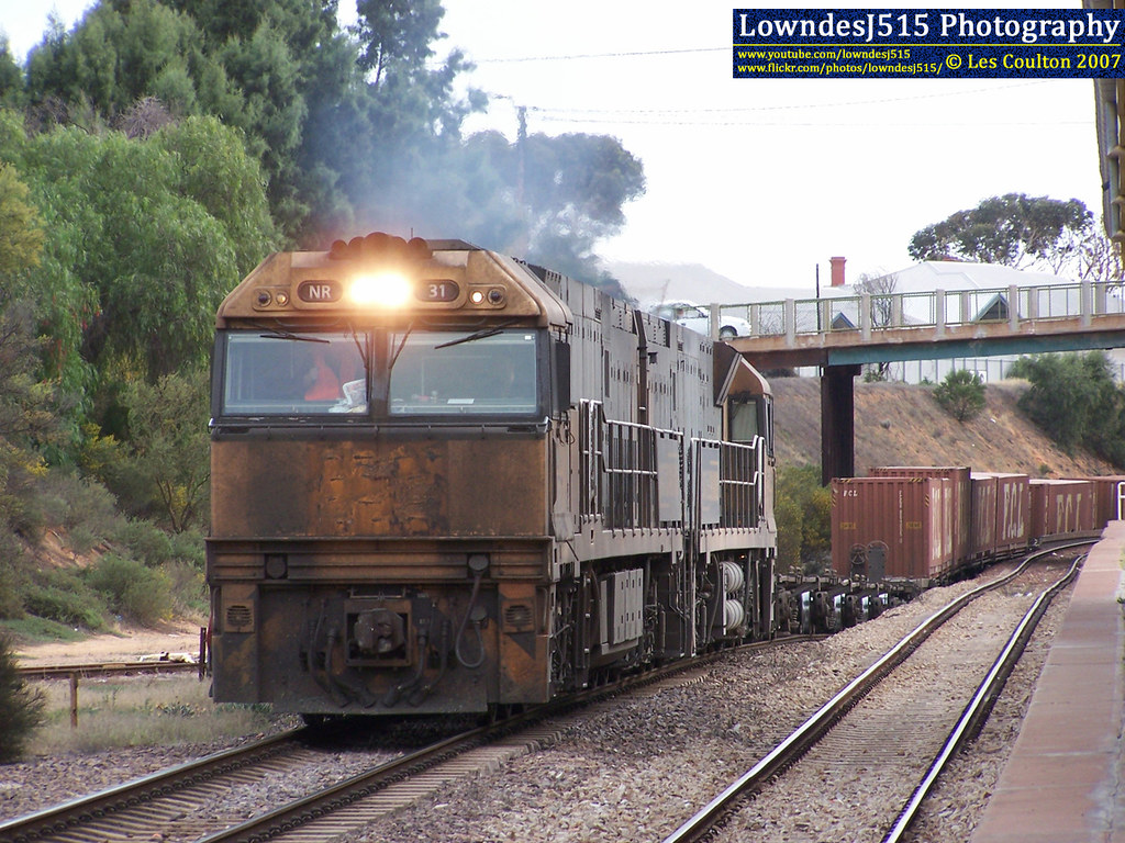 NR31 & NR49 at Port Augusta by LowndesJ515