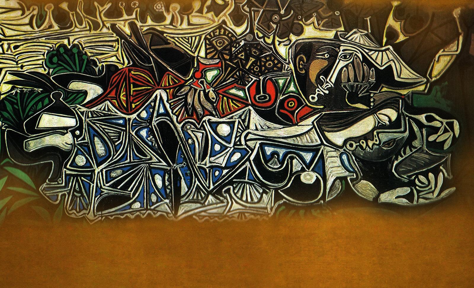 Bondades del Verano, narración de Gustave Courbet (1856), remembranza de Pablo Picasso (1950).