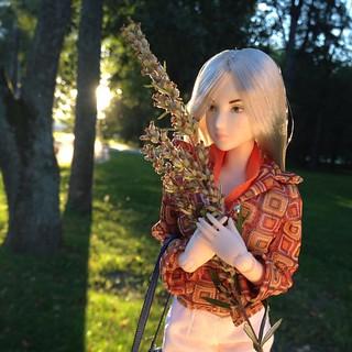 My dear Northern beauty by @mc_quantum спасибо за красавицу!!!! Я в полном восторге! Еще бы одежку для нее насобирать :) #obitsu | by Enifer ♥