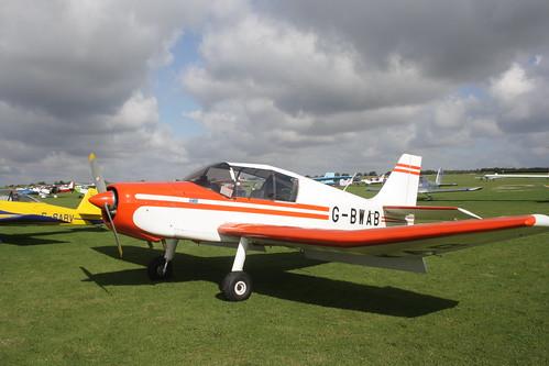 G-BWAB Jodel D14 [PFA 251-12469] Sywell