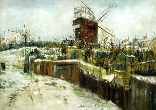 Maurice Utrillo - The Moulin de la Galette in the Snow, 1917 at Oskar Reinhart Art Collection Winterthur Switzerland | by mbell1975