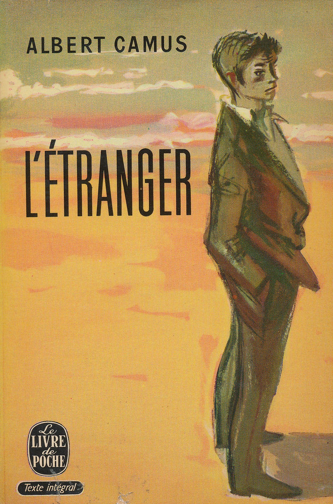 Letranger By Albert Camus Gallimard 1957 This Side For