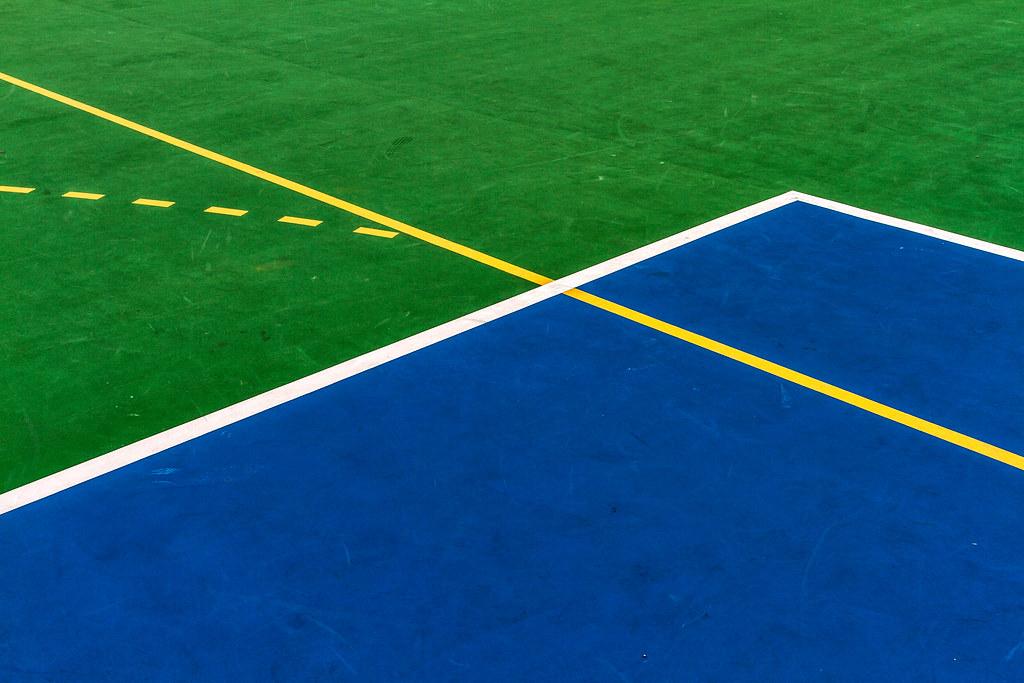 """""""藍白黃綠 Blue White Yellow Green"""" / 香港體育形之界 Hong Kong Sports Forms Division / SML.20130410.7D.37667.P1.L1"""