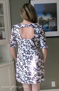 Colette Laurel Dress keyhole back