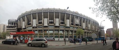 Real Madrid stadium   by Michal Sänger