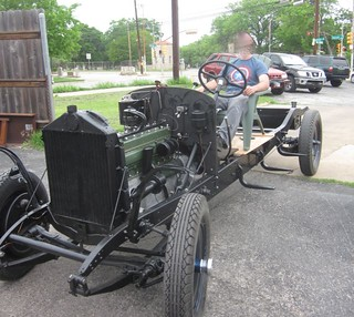 Packard 733 running chassis | by Iowahawk Blog