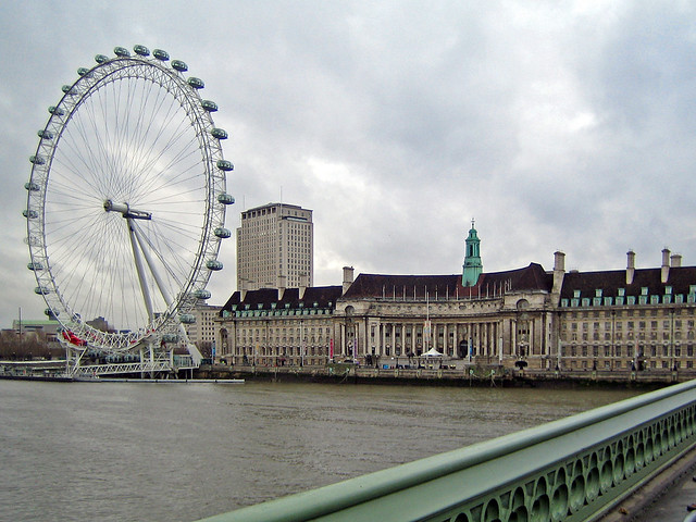 The London Eye - London, England