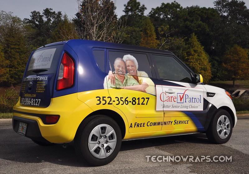 Custom vinyl Soul car wrap in Orlando, Florida