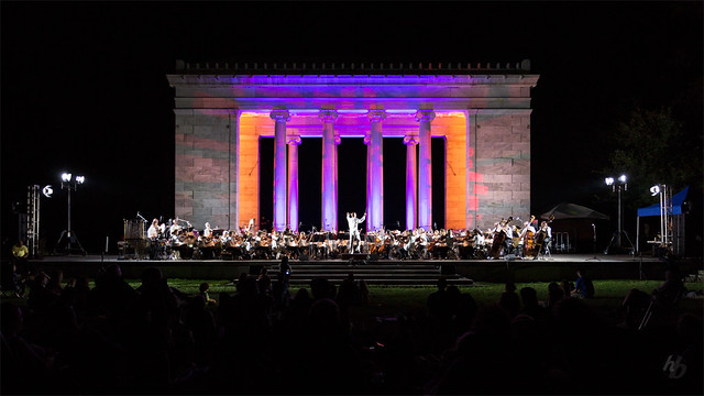 Temple to Music at Roger Williams Park