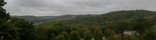 dubuquecounty iowa parkfarmwinery bankston landscape overcast fall autumn