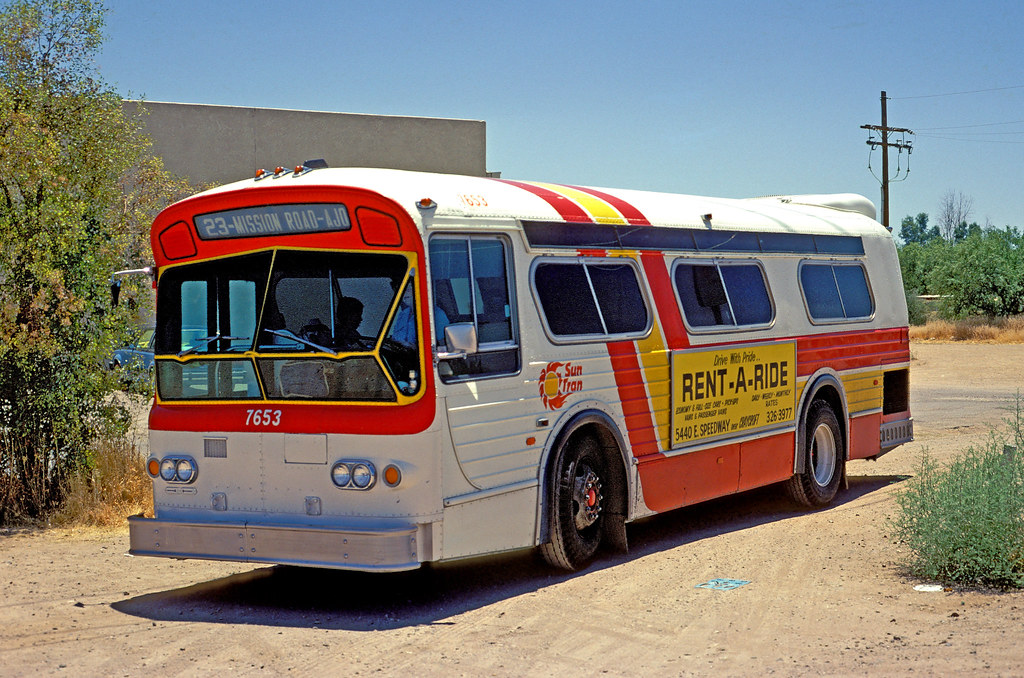 Tucson Arizona Sun Tran Bus | This bus has not operated for … | Flickr