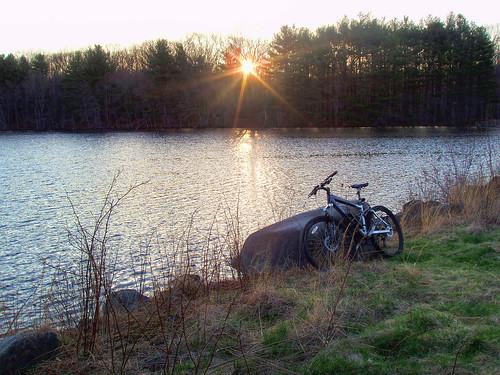 oxford connecticut naugatuck state forest mountain bike kona dawg mtb sunrise