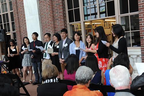 Freeman Scholars Reunion & Commencement Reception, 2013