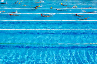 Swimming Pool Lanes | by gliak00