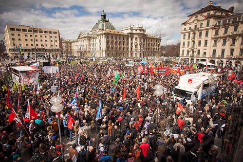 Demonstration zum NSU Prozess München-5 | by linksfraktion